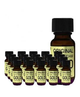 Original Amsterdam Gold 25ml - Boite 20 Flacons