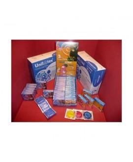 Caixa de 144 preservativos MultiFruitas