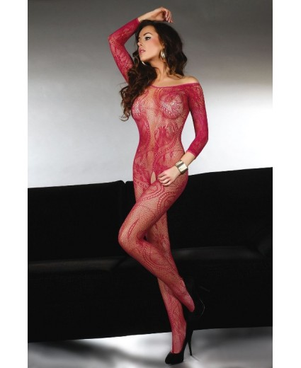 ABRA BODYSTOCKING – MAROON