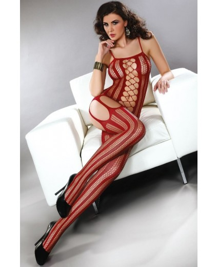 ALMAS BODYSTOCKING – MAROON