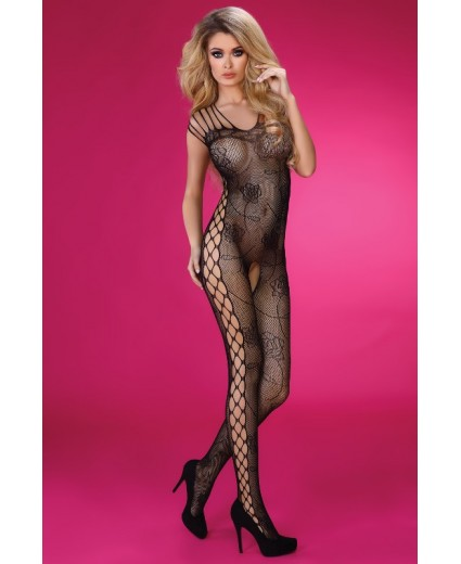 ALTHINA BODYSTOCKING BLACK