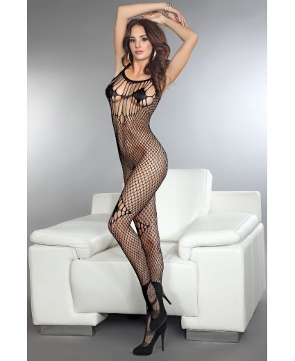 AMKEZIA BODYSTOCKING BLACK