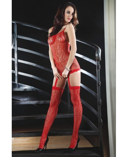 CATRIONA BODYSTOCKING – ROUGE