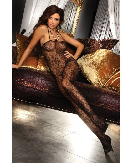 DANAE BODYSTOCKING BLACK