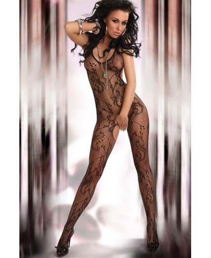 EDEN BODYSTOCKING – PRETO