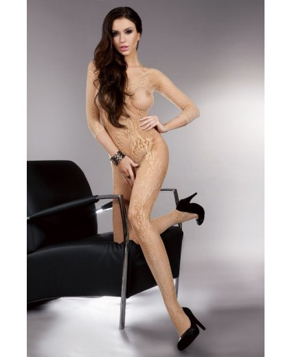 KHRYSEIS BODYSTOCKING BEGE