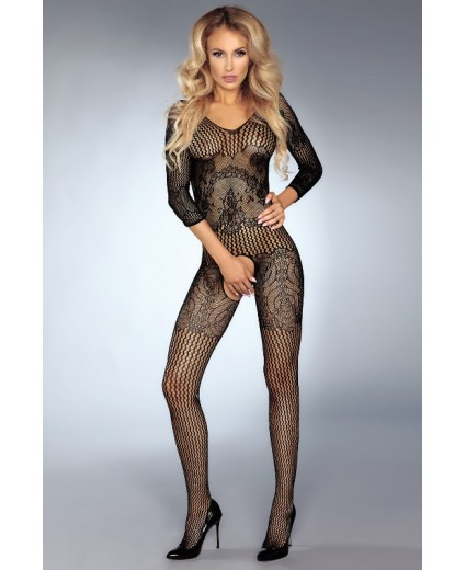 KINSLEY BODYSTOCKING BLACK