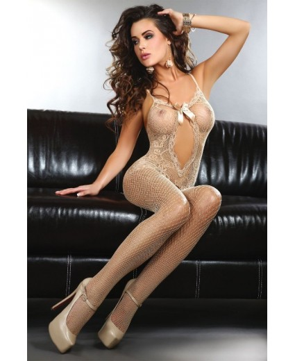 MAGALI BODYSTOCKING – BEIGE