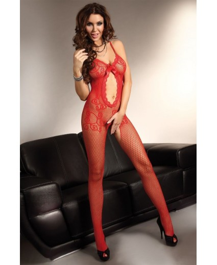 MAGALI BODYSTOCKING – RED