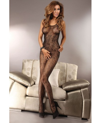 OPHELIA BODYSTOCKING BLACK