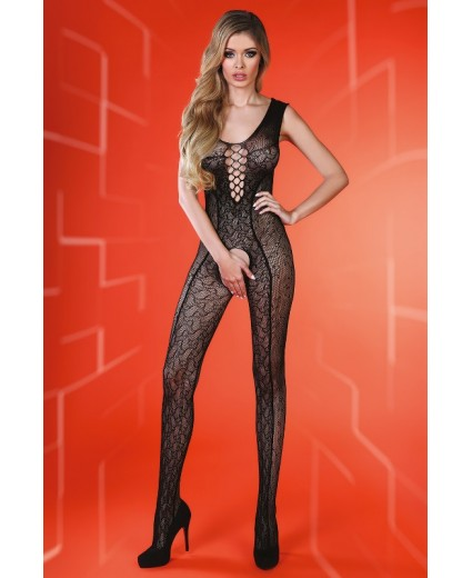 SIERRA BODYSTOCKING BLACK