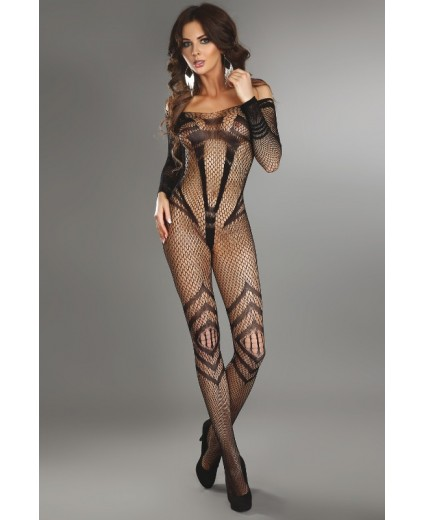 SIRIANA BODYSTOCKING PRETO