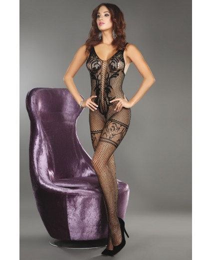 TRISTESSA BODYSTOCKING PRETO