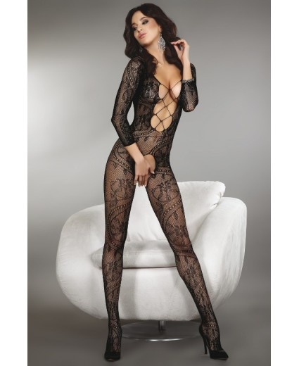 ZITA BODYSTOCKING – NEGRO XL/XXL