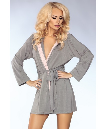 INNOCENT ROSE HOODED ROBE – MODEL 100