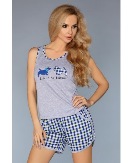 MODEL 720 PAJAMAS – BLUE