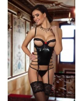 Angelina corset black