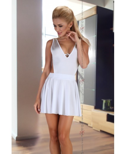 MINI VESTIDO SEVERINE WHITE
