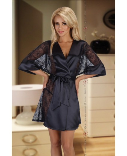 ROBE STEPHANIE BLACK