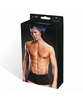 BLUE LINE Performance Microfiber Lace-Up Trunk blk L/XL
