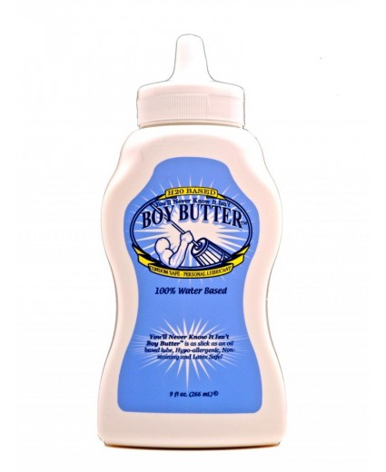 Boy Butter H2O Squeeze 9 oz