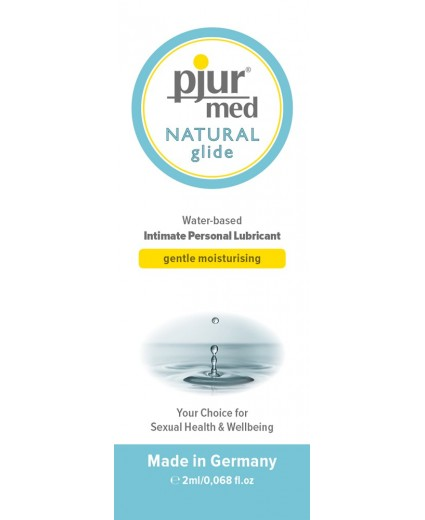 PJUR MED NATURAL GLIDE SAQUETA 2ML