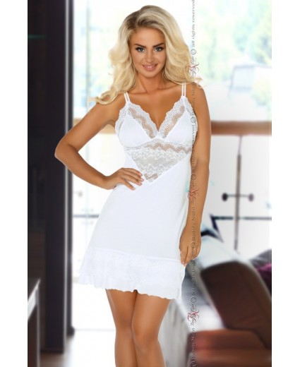 CAMISÓN PETRA CHEMISE WHITE