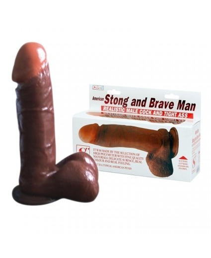 DILDO STRONG AND BRAVE MAN – 19 CM