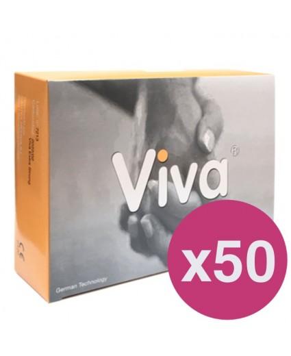 PRESERVATIVOS VIVA EXTRA STRONG - CAIXA DE 144 X 50