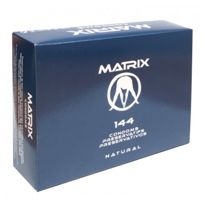 .PRESERVATIVOS MATRIX NATURAL - CAIXA DE 144