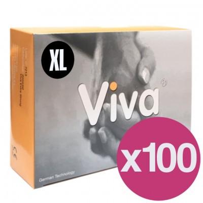 .PRESERVATIVOS VIVA XL - CAIXA DE 144 X100