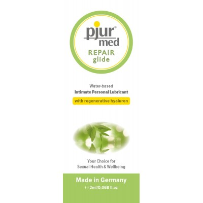 PJUR MED REPAIR GLIDE SAQUETA 2ML