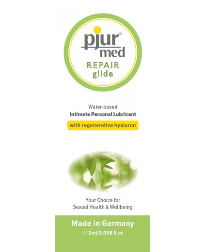 PJUR MED REPAIR GLIDE BOLSITA 2ML