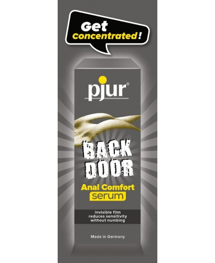 PJUR BACK DOOR ANAL COMFORT SERUM SACHET 1,5ML