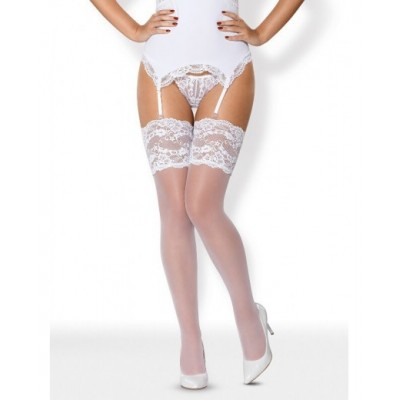 810-STO-2 STOCKINGS WHITE