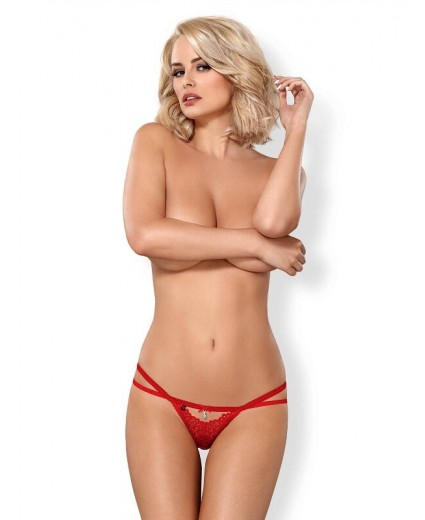 838-THO-3 THONG RED